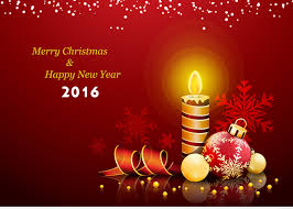 free merry and happy new year card 2016