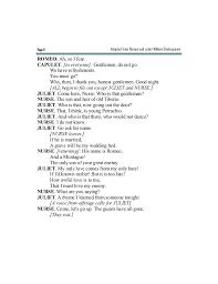 Camp Counselor Job Description For Resume by Romeo U0026juliet Fragment