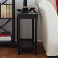 wood skinny bedside table u2014 new interior ideas homey skinny