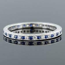 wedding band manufacturers 535 442 antique reproduction alternating sapphire and diamond