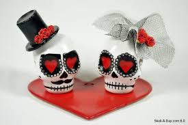 skull cake topper skull wedding cake topper