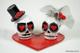 skull wedding cake toppers skull wedding cake topper