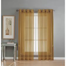 Home Classics Blackout Curtain Panel by Gold Curtains U0026 Drapes Window Treatments The Home Depot