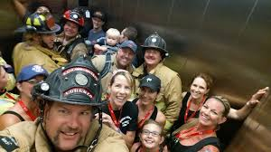 Firefighters Stair Climb by Rancho Santa Fe Professional Firefighters