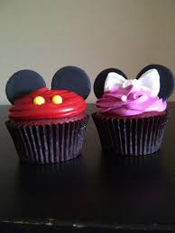 mickey and minnie cupcakes love this as a baby shower theme if i u0027m