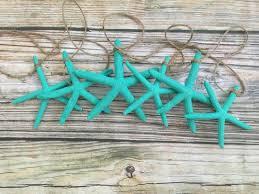turquoise starfish 5 foot garland sea 2 land designs