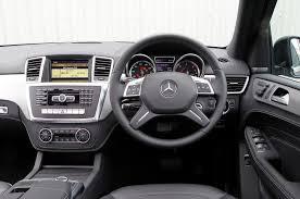 mercedes ml class mercedes m class 2012 2015 interior autocar