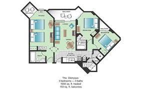 Myrtle Beach 3 Bedroom Condo The Strand Boutique Resort Oceanfront Guru