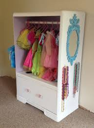 Diy Play Kitchen From Entertainment Center Lily U0027s Princess Closet With Vanity Made From A Entertainment