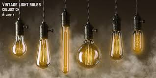 model vintage light bulbs