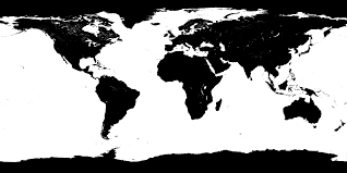 Map Of The Earth Computer Rendering Of The Earth And Moon