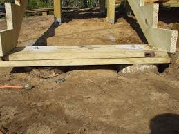 2 Step Stair Stringer by Need Suggestions For Deck Stairs Landing On Grass Decks
