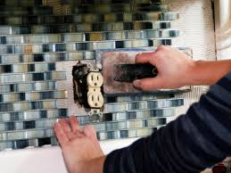 Kitchen Backsplash Stick On Tiles How To Install A Tile Backsplash How Tos Diy