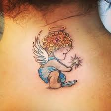 baby boy angel tattoos pictures to pin on pinterest tattooskid