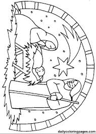 christmas nativity coloring 1 printable christmas nativity