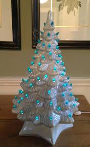 tabletop ceramiced white tree