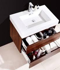 Wall Mount Bathroom Vanities by Bliss 30