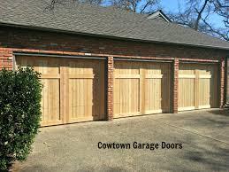 folding garage door cedar garage doors cowtown garage door blog