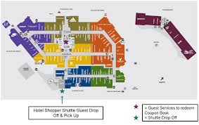 orlando premium outlets map free shopping shuttle to orlando vineland premium outlets