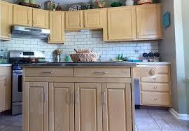 painted backsplash ideas kitchen painted subway tile backsplash remodelaholic dma homes 83737