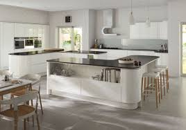High Gloss Kitchen Cabinets Lucente White Cheap Kitchens Discount Kitchens For Sale Online