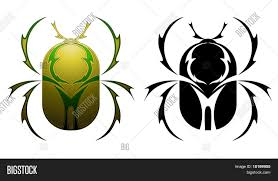 scarab tattoo design vector u0026 photo bigstock