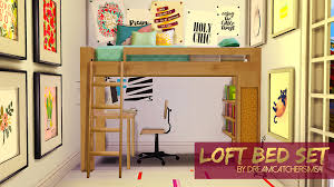 loft bed set i made a little set for you space saving simmers it