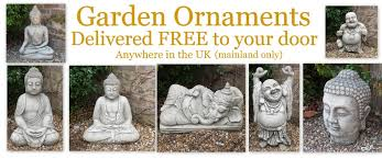 garden buddha statues and ornaments