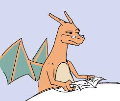 Dad Reading Newspaper Meme - newspaper dad charizard meme is not amused