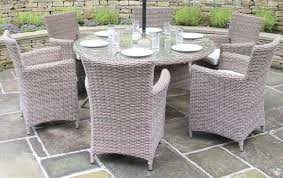 6 seater outdoor dining table rattan patio dining set stylish rattan outdoor dining set bellagio