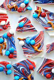 Red White And Blue Chocolate Red White And Blue Bark Let U0027s Eat Cake