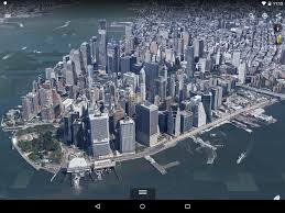 New York Google Map by Google Earth For Android Gets A New 3d Renderer
