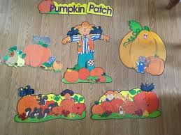discount or used fall thanksgiving bulletin board sets