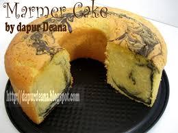 cara membuat kue bolu jadul dapur deana marmer cake
