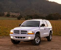 1999 dodge durango slt 1999 dodge durango slt white 3 4 front view on dirt kimballstock