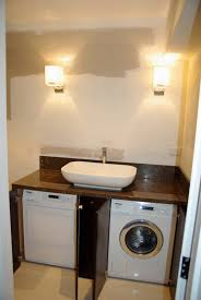 mandara with love laundry transformed to powder room bathroom