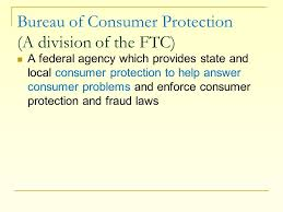 consumer fraud bureau the purpose of this presentation is to help consumers understand