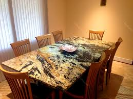 Orange Table L Granite Top Kitchen Table Sets Laphotos Co
