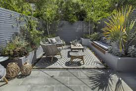 kensington courtyard garden design living green walls