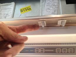 sub zero light bulb to change a sub zero light switch