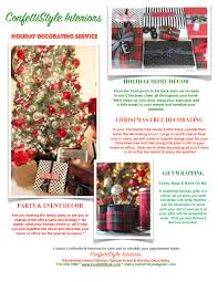holiday decorating with confettistyle interiors confettistyle