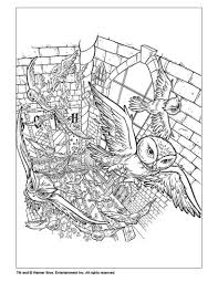 poudlard coloring pages hellokids com