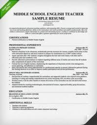 English Teacher Resume Sample by Enjoyable Inspiration Ideas Teacher Resume Samples 4 Writing Guide