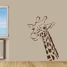 Mural Stickers For Walls Popular Giraffe Wall Decals Buy Cheap Giraffe Wall Decals Lots