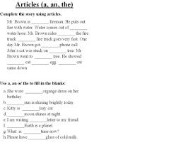Resume Adjectives A An The Worksheets Worksheet Mogenk Paper Works