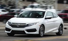 honda civic 2 0 manual 2016 honda civic coupe 2 0l manual test review car and driver