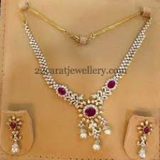 simple diamond sets sale 25 discount cz white stones ruby south sea pearls one gram