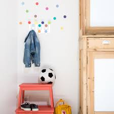 kids wall hanger with sticker dots tresxics dots wall hanger with 10 dots wall stickers color