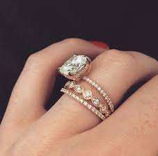 stackable diamond rings 42 lovely stackable wedding rings wedding idea