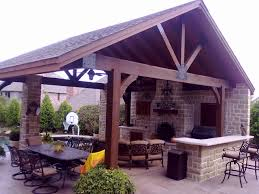 outdoor entertainment area designs
